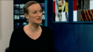 Comedian's show cancelled over prostitution row ENGLAND London GIR INT Kate Smurthwaite LIVE STUDIO Interview SOT
