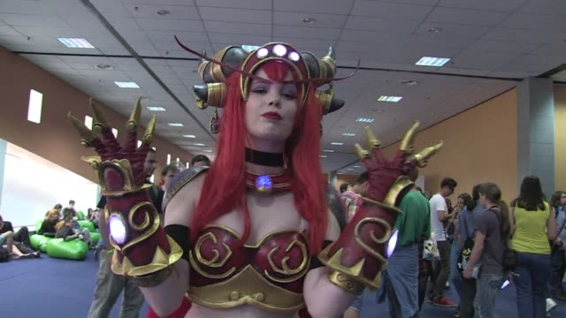 Comic book and computer gaming enthusiasts dress up and gather in Bucharest for East European Comic Con
