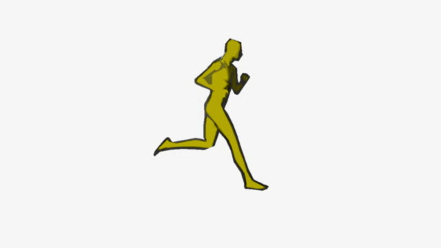 comics stylized runner HD