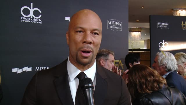 INTERVIEW Common on how special is tonight as Hollywood comes together in one of the first ceremonies of the season to recognize great filmmaking...