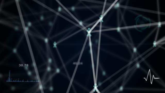 communication network animation