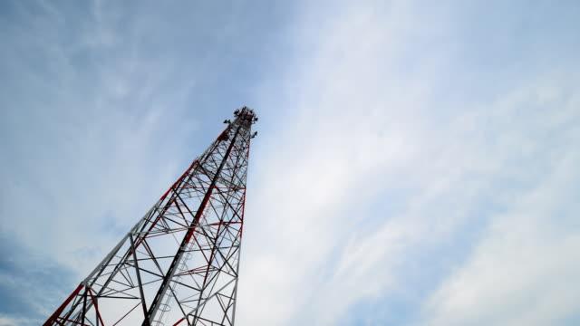Kommunikation Turm Zeitraffer