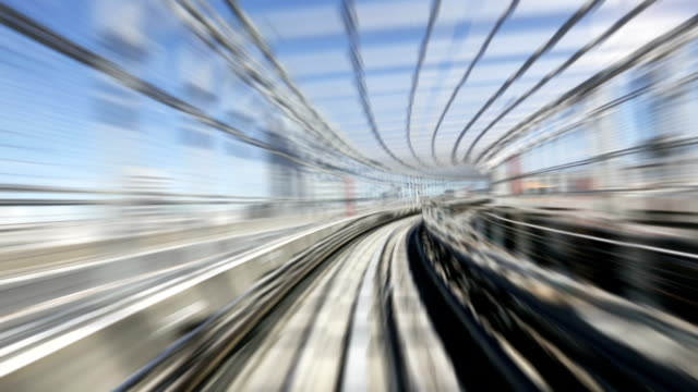 Commuter Train Speeding