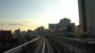 4K VDO : Commuter Train Speeding