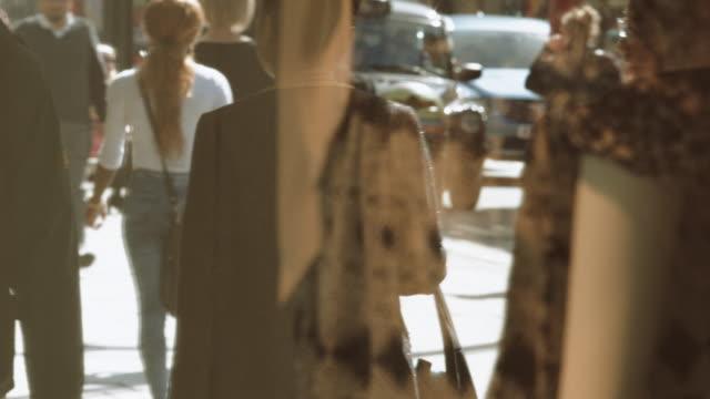Commuters in Oxford Street London