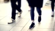 Commuters legs