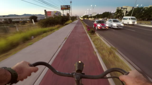 Commuting on Bicycle