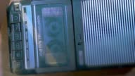 Compatta grande vintage registratore di nastro cassetta