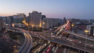 T/L WS HA TD Complex transportation System, Day to Night Transition / Beijing, China