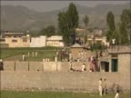 Compound where Osama Bin Laden was discovered and killed by US Military Abbottabad Pakistan