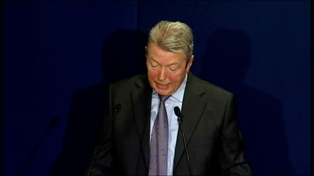 Alan Johnson speech Johnson speech SOT If the country is to support the tough choices that are necessary they must see those that bear the greatest...