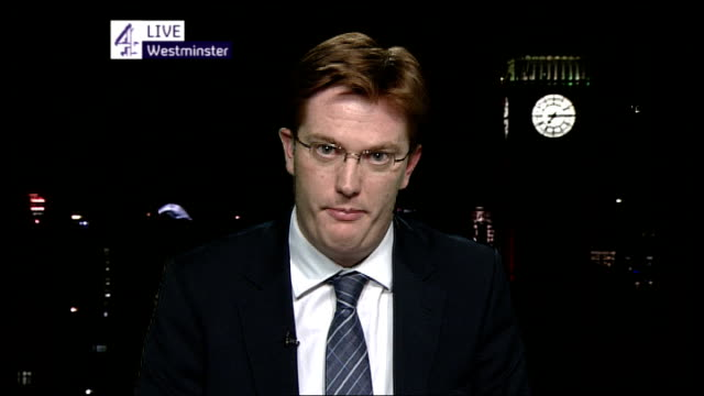 London GIR INT Danny Alexander MP 2 WAY interview from Westminster SOT on jobseekers' allowance and work programme/ on need to tackle budget deficit/...