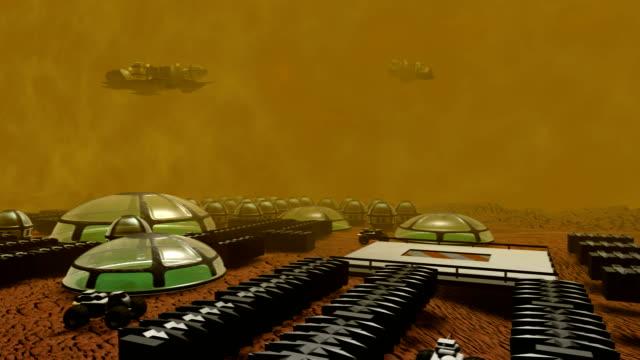 Computer animation of world base