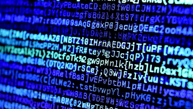 Computer Code Data Stream