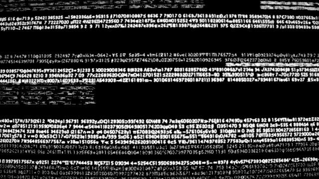 Computer retrò codice Glitch