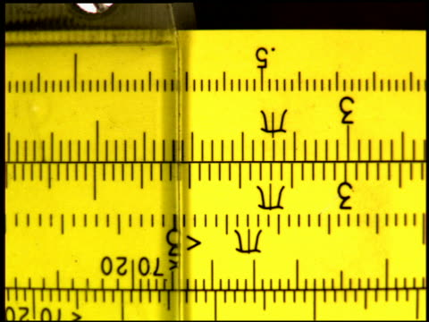 Computer generated image extreme close up rulers and tape measures