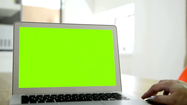 HD computer green screen
