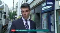 Computer hackers steal personal details of Carphone Warehouse customers Reporter to camera
