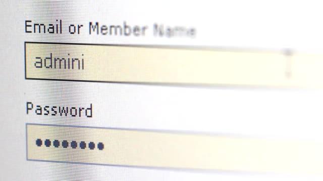 computer-Passwort