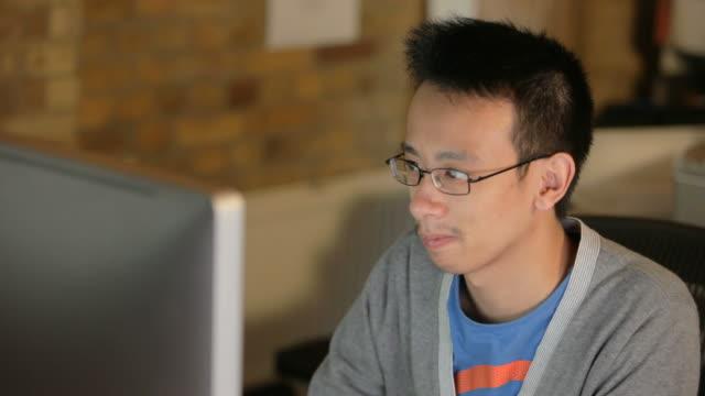 Computer Programmer at Work