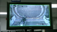 A computer screen shows a camera moving around a tube channel panel.
