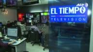 Con su senal fuera del aire en Venezuela por orden gubernamental el director del canal de television colombiano El Tiempo teme una escalada de...