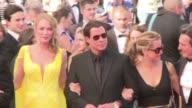 Con Uma Thurman John Travolta y Quentin Tarantino Pulp Fiction volvio este viernes a la alfombra roja del Festival de Cannes 20 anos despues de ganar...
