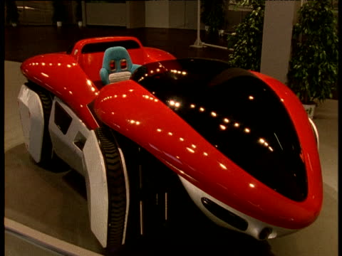 Concept car at Birmingham motor show, 1992