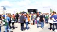 Konzert Menschenmenge blured