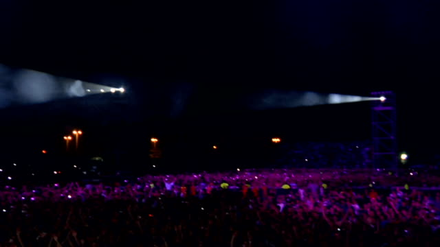 Concert Crowd Montage