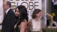 Conchita Wurst at The Beverly Hilton Hotel on January 11 2015 in Beverly Hills California