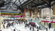 Concourse of Liverpool Street Station - Timelapse