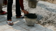 Concrete pouring and work Construction industry