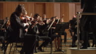 MS Conductor leading orchestra / London, United Kingdom
