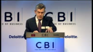 Gordon Brown speech Brown speech SOT And we must ensure that we get value for every pound we spend I would like to thank four senior business leaders...