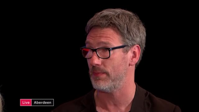 SNP Conference held in Aberdeen SCOTLAND Aberdeen INT Mandy Rhodes LIVE interview SOT and Robin McAlpine LIVE interview SOT