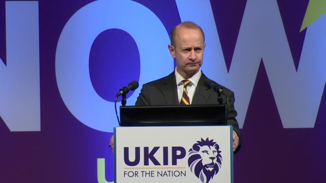 Henry Bolton speech Henry Bolton speech SOT re duty to ensure Brexit occurs / immigration