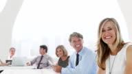 Konferenz- und Business Personen
