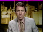 """London ITN Studio Peter Sissons i/c SOF """"For the second time…influence in the nation's affairs"""""""