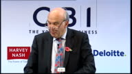 Vince Cable speech Vince Cable speech continued SOT The difficult choices we make now will determine not only our recovery but the shape of the...