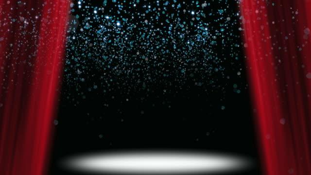Confetti Glitter Stage Loop