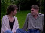 Bosnia UK reinforcement/ hostage release/ F16C downed CF MS James Cornish fiancee sitting on grass CMS Cornish PAN RL to fiancee