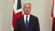 British woman fighting for Islamic State killed by drone strike ENGLAND London INT Michael Fallon MP press conference SOT will not comment on...