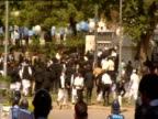 Confrontation between police and protesters in Islamabad
