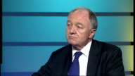 Congestion charge rise for 'gas guzzlers' in London ENGLAND London GIR INT ken Livingstone STUDIO interview SOT discusses introduction of new CO2...