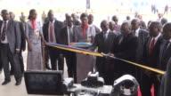 Congolese President Joseph Kabila on Thursday inaugurated a new terminal and control tower at Kinshasas Ndjili International Airport
