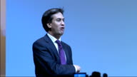 Ed Miliband gives speech Miliband speech SOT You have been telling me the party isn't sufficiently connected with the lives of your members We need...