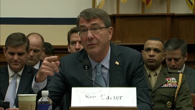 Congressman Adam Smith of Washington State hears from Defense Secretary Ashton Carter about the complexities his Department faces in Baghdad to...