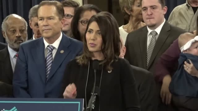 Congresswoman Kristi Noem says at a press conference with House Republicans to introduce comprehensive tax reform that her interest began with an...