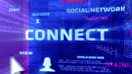 Connect Button In The Digital World